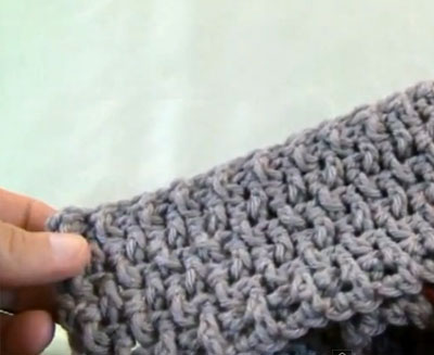Crochet Crinkle Stitch