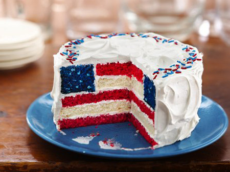 July 4th Celebration Cake Recipe