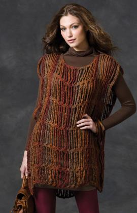 Drop Stitch Tunic by The Double Stitch Twins