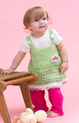 PeaPod Sundress, Crochet Pattern