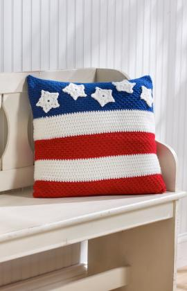 American Crochet Pillow Pattern
