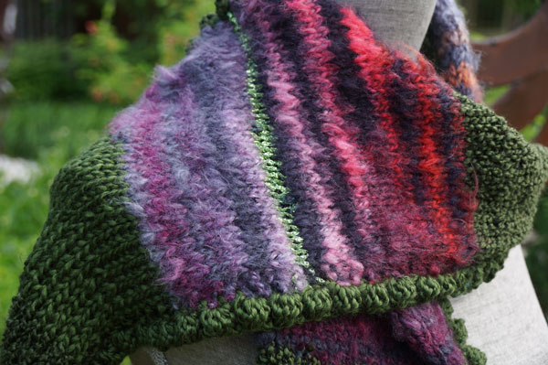 Magic Knitted Scarf The Crochet Crowd Knot Just Yarn Blog