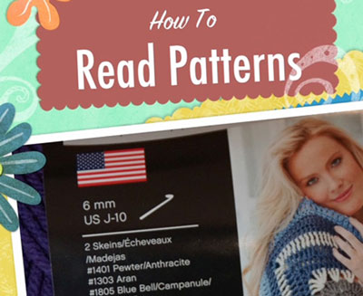 How To Read Crochet Patterns : Learn How To Read Crochet Patterns Knot Just Yarn Blog