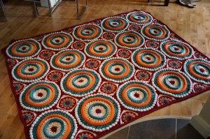 Mikey's Ringtoss Crochet Afghan