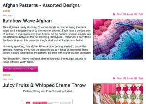 Crochet Patterns by The Crochet Crowd