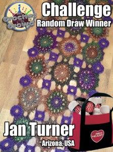 Amazing Crochet Shawl Challenge Winner