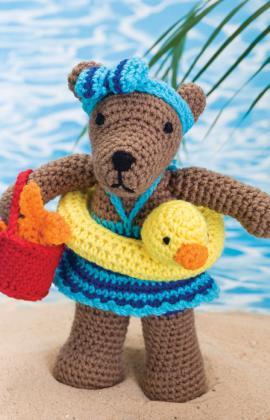 Beach Bear Rita Crochet Pattern