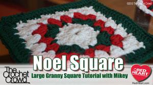 Noel Granny Afghan Pattern