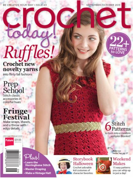 Just Crochet Magazine : Crochet Magazine I Love