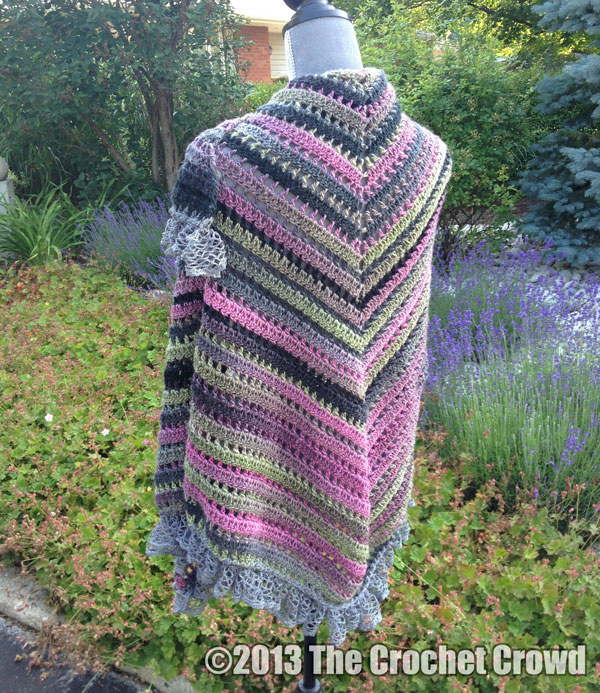 Crochet Patterns Only : Exciting New Crochet Shawl: 3 Balls of Yarn Only Knot Just Yarn Blog