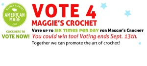 Vote for Maggie's Crochet
