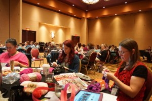 Mikey, Crochet Crowd, Knit & Crochet Show