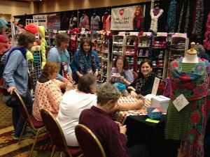 Crochetville, Crochet Crowd, Red Heart