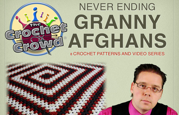 Crocheting With Mikey : ... Never Ending Granny Afghans by Michael Sellick Knot Just Yarn Blog