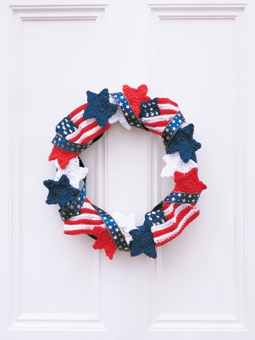 American Patriotic Wreath