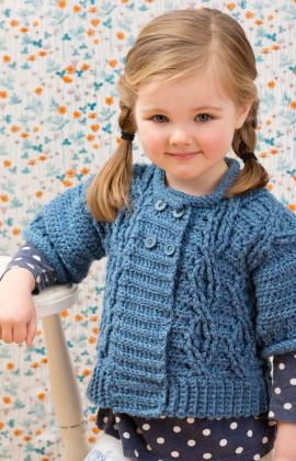 Crochet Cable Sweater Pattern