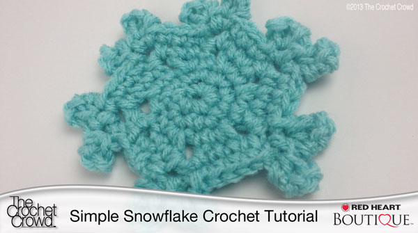 Simple Snowflake Crochet Pattern