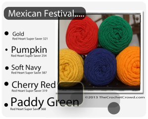 Mexican Festival Color Combo