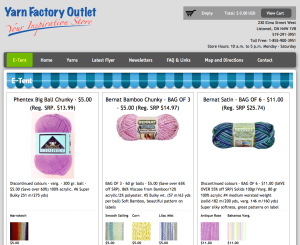 Another Yarn Giveaway by Spinrite Factory Outlet for January 2014