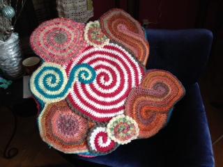 Mikey's Yarn Clock