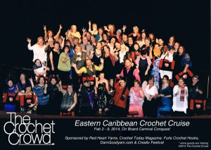 Red Heart Yarns allows 50 More Crochet Cruise Tickets