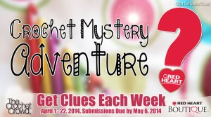 Crochet Mystery Adventure Begins April 1st, 2014
