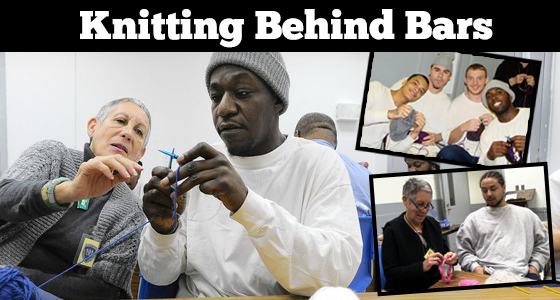 Teaching Knitting Behind Bars: A Remarkable Story