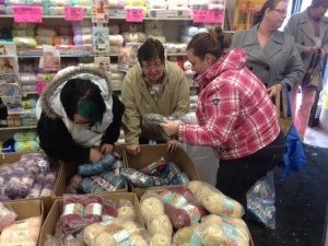 When Yarn Sales Get Personal... Mikey Loses Control at Spinrite