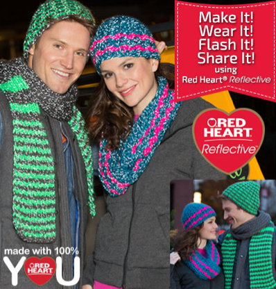 Flash It to Win It: Free Yarn from Red Heart