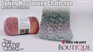 Spring Has Sprung Crochet Challenge