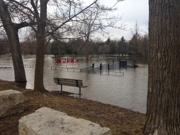 Flood of Hanover and Walkerton Ontario