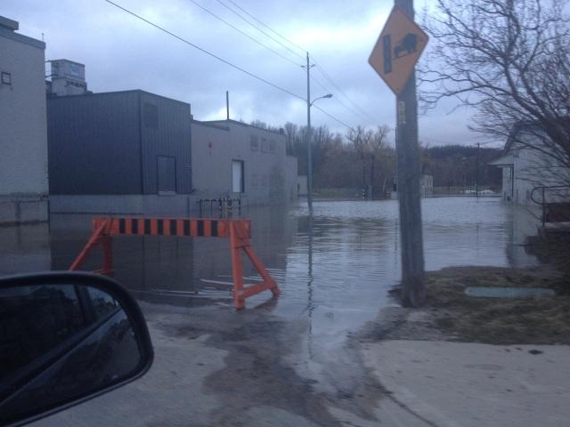 Flooding in Walkerton Ontario