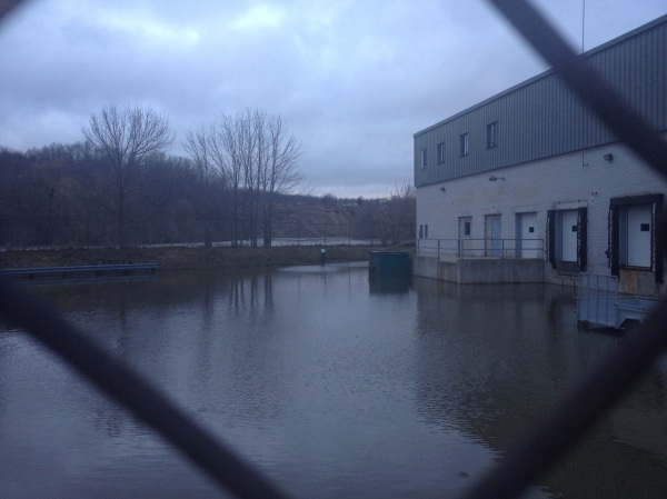 Flood in Walkerton, Ontario