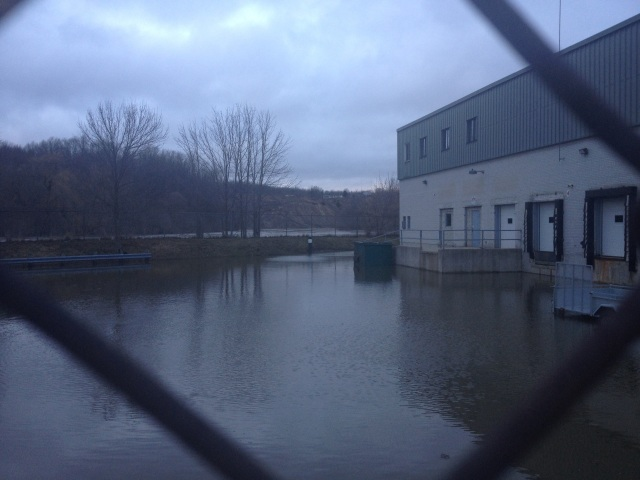 Flood in Walkerton, Ontario