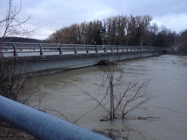 Flooding of Walkerton.