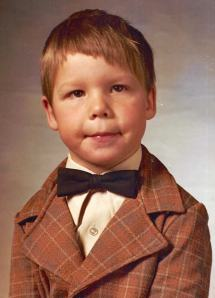 Michael Sellick as a child.