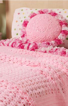Sweet Pillow and Bed Spread