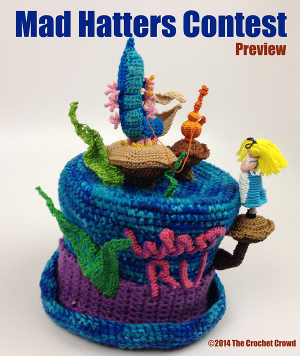 The Crochet Crowd Madhatter Contest