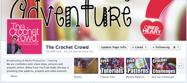 Facebook for The Crochet Crowd