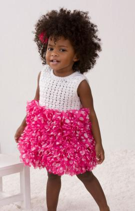 Baby Dress with Ruffles Pattern